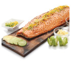 salmone al barbecue
